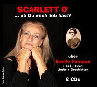 "Cover Doppel-CD ""... ob Du mich lieb hast? über Emilie Fontane"""